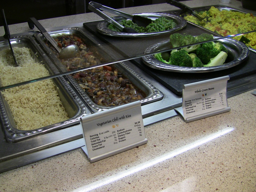 Meatless Monday Entrees Served at Wellness Corner