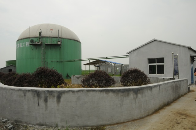 Biogas Digester for 8,000 pigs in Zhejiang Province