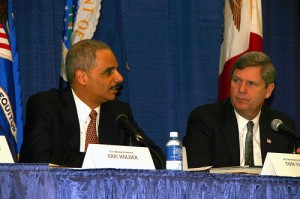 Secretary Vilsack and Attorney General Holder