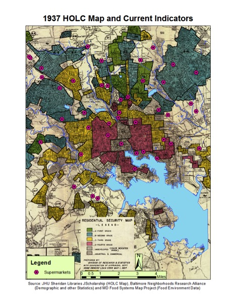 The Long Shadow of Redlining on the Food System | Center for