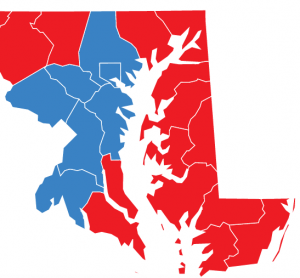 Maryland's Eastern Shore counties vote red but want regulations on industry.
